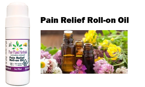CBD Pain Relief Roll-on Oil